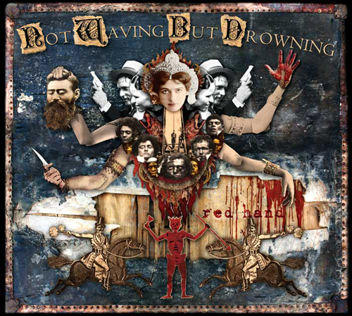 Not Waving But Drowning: Red Hand